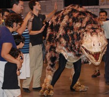 T-Rex Roams the Fair