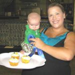 Brooke and Baby Armijo, Cupcake Baking Winner