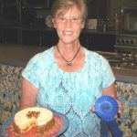 Ann Turley, sweet cheescake winner