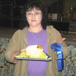 April Burton, savory cheesecake winner