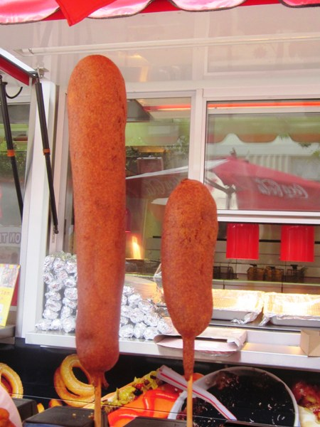 how to cook state fair corn dogs