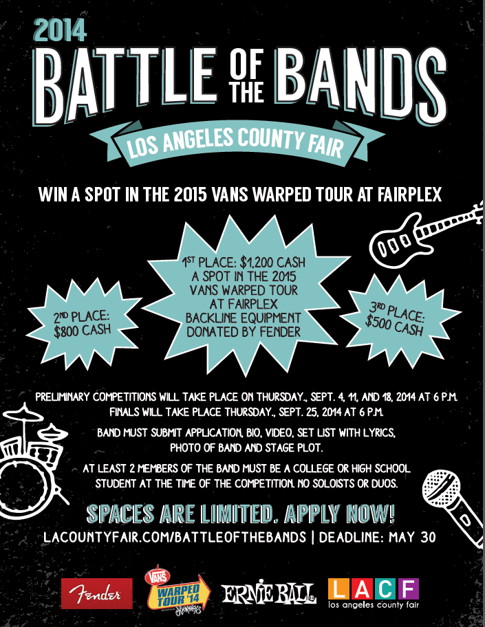 Battle of the Bands LA County Fair