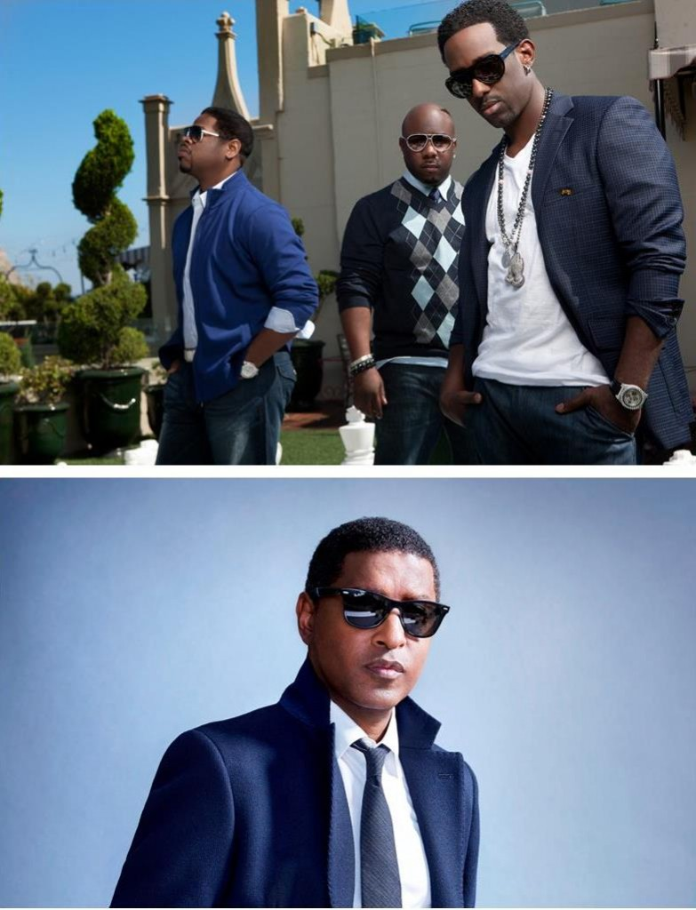 Boyz II Men Kenny Babyface Edmonds