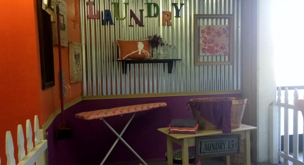 DIY Design Studio Laundry Corner
