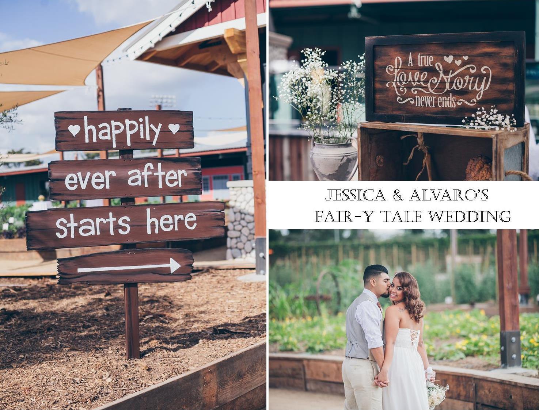 rustic farm wedding | Fair Blog