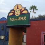 Plaza de las Americas Entrance