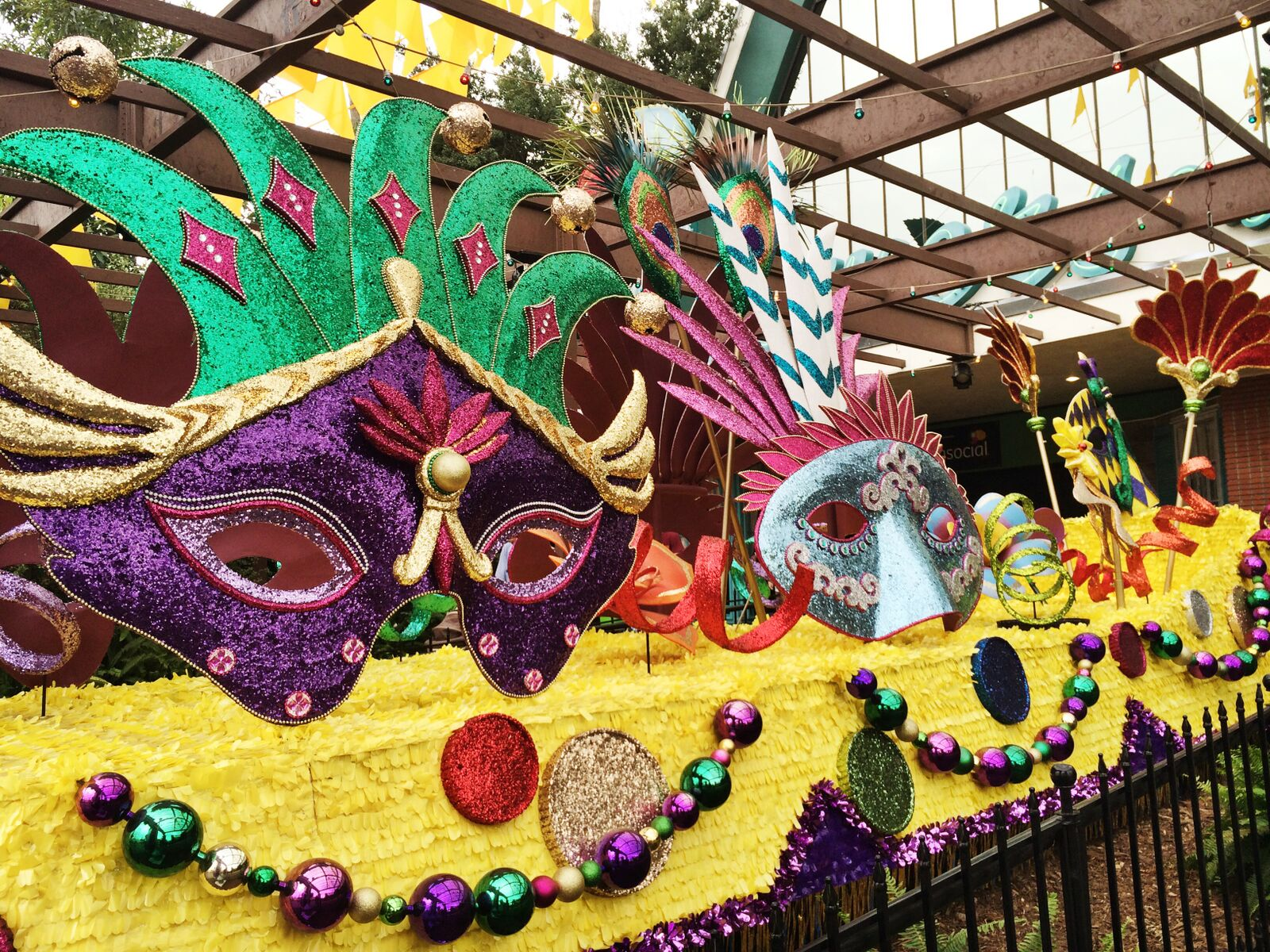Mardi Gras is the celebration of the beginning of the Catholic Lenten season. Mardi Gras is French for