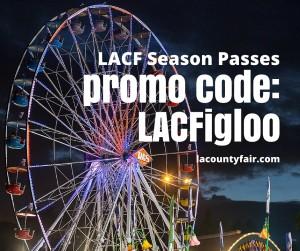 la county fair season pass promo