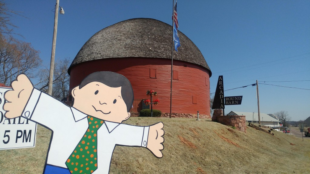 Flat Stanley Hits Route 66