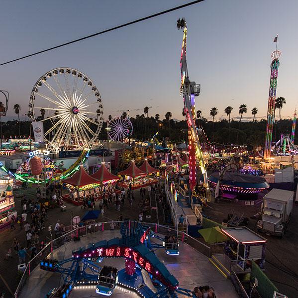 Carnival at LA County Fair